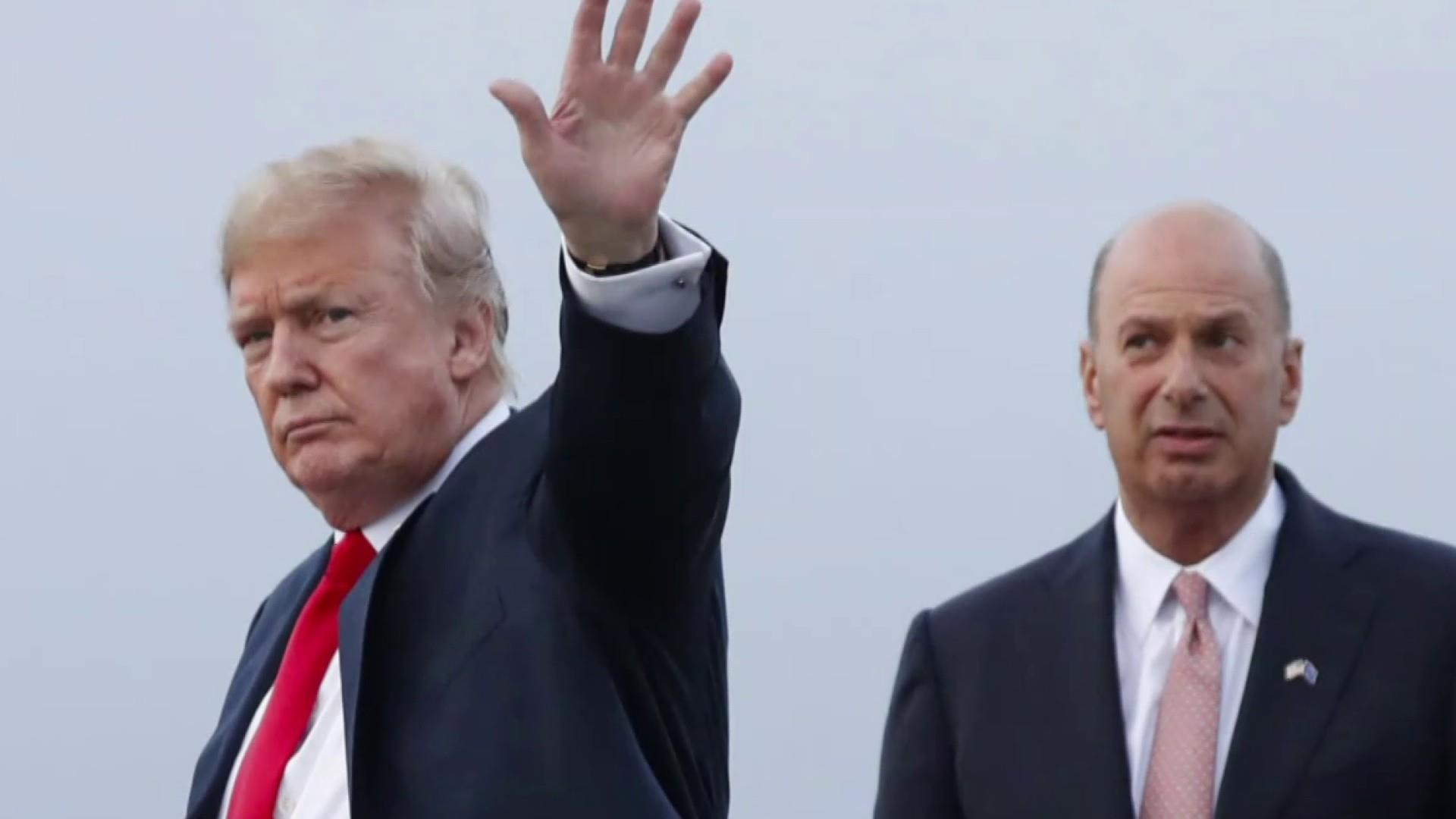 Facing new bribery evidence, Trump claims he 'doesn't know' the donor he appointed