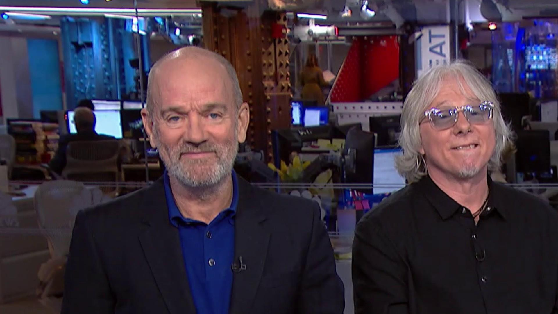 R.E.M.'s Michael Stipe on Trump's 'hate speech,' corporate ownership of the press