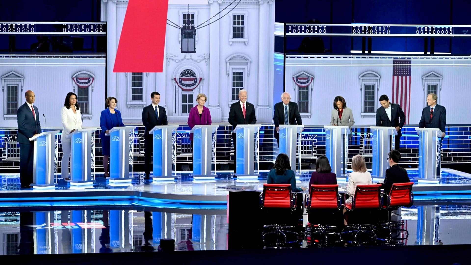 Top moments from the MSNBC/Washington Post debate