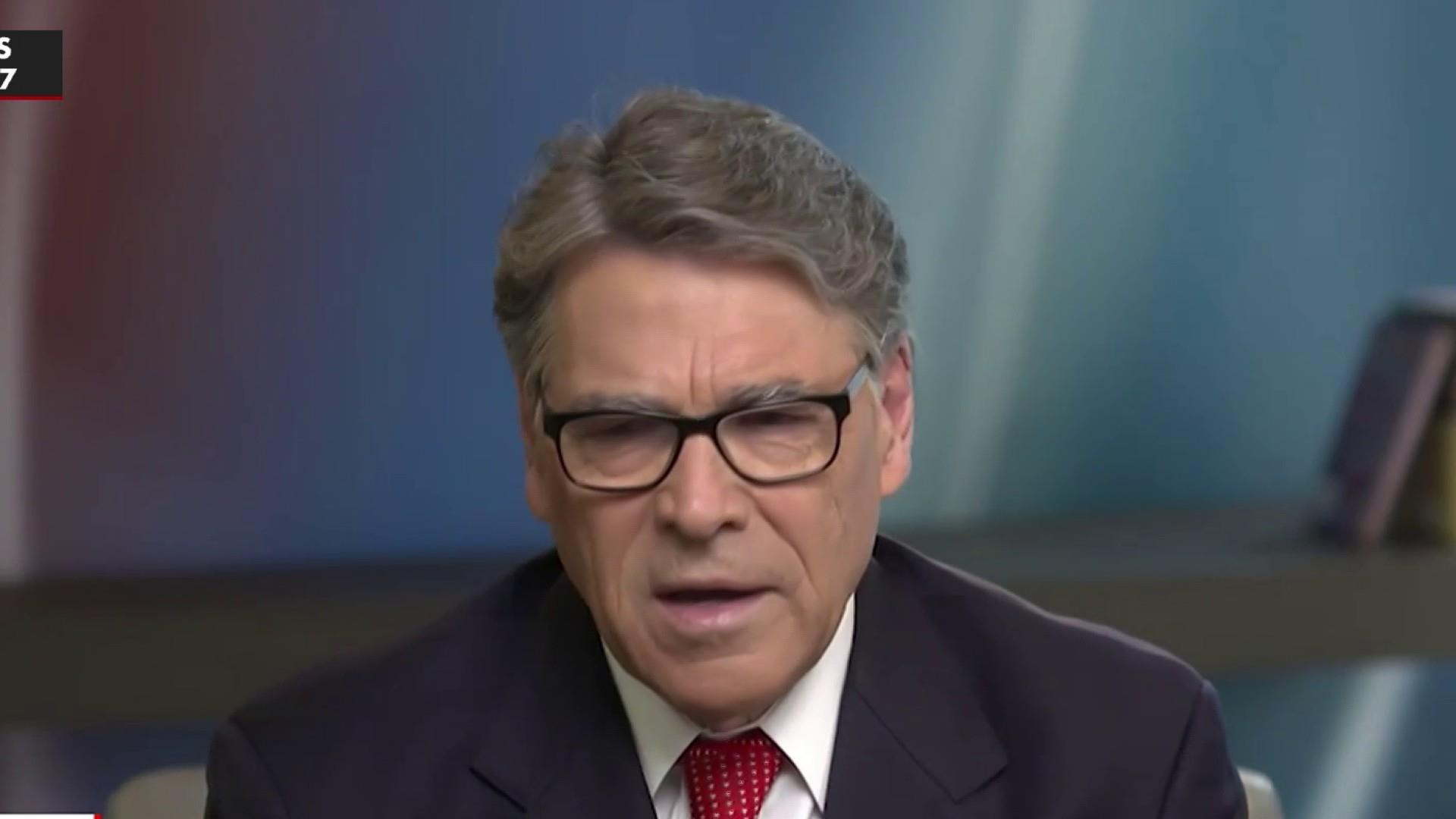 Rick Perry is up to his neck in the Ukraine scandal
