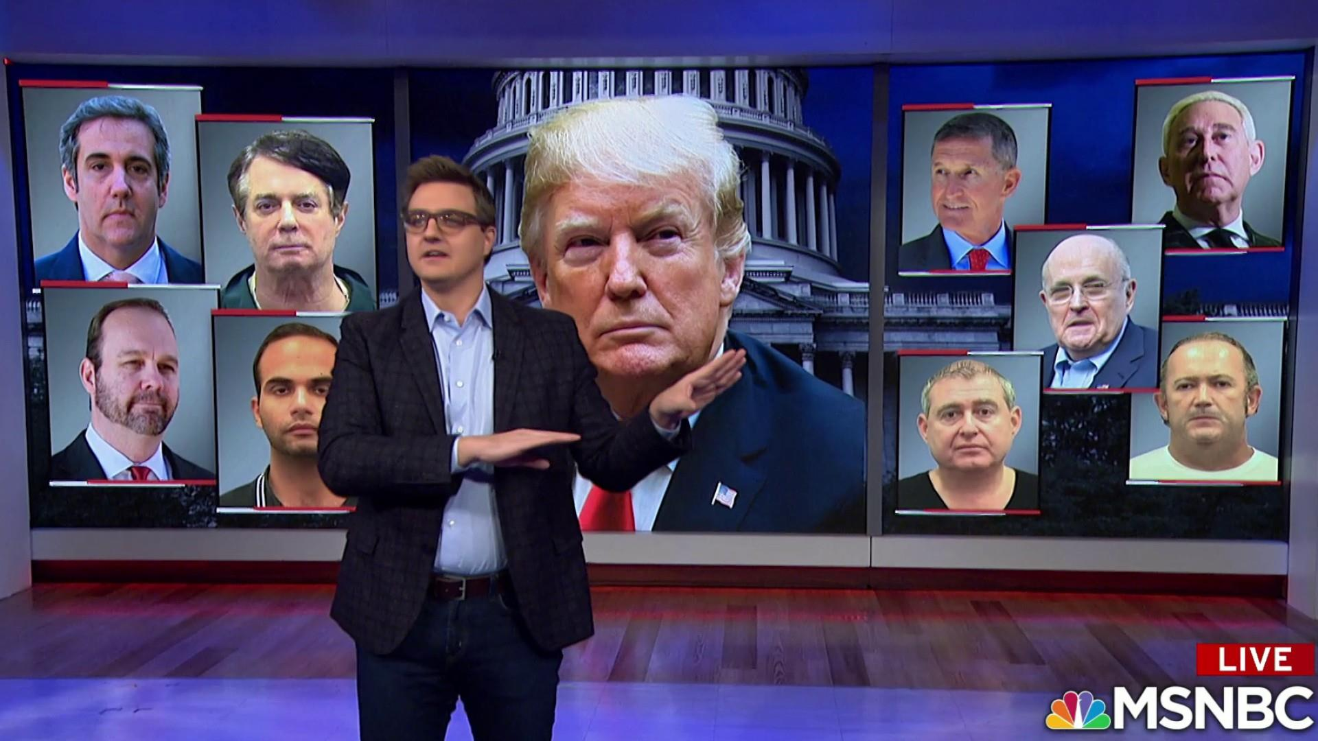 Trump surrounds himself with criminals