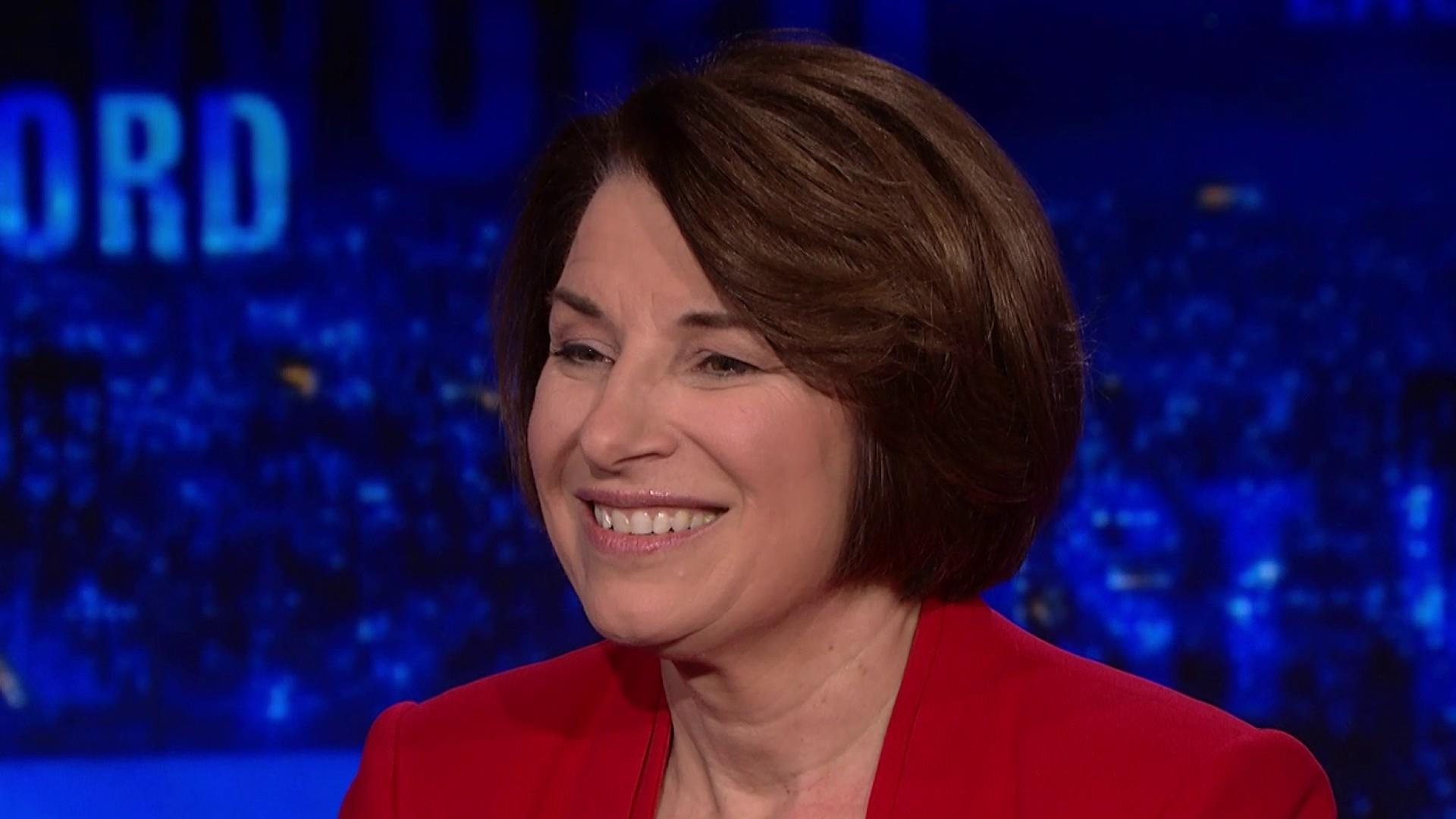 Sen. Amy Klobuchar on a potential impeachment trial & 2020