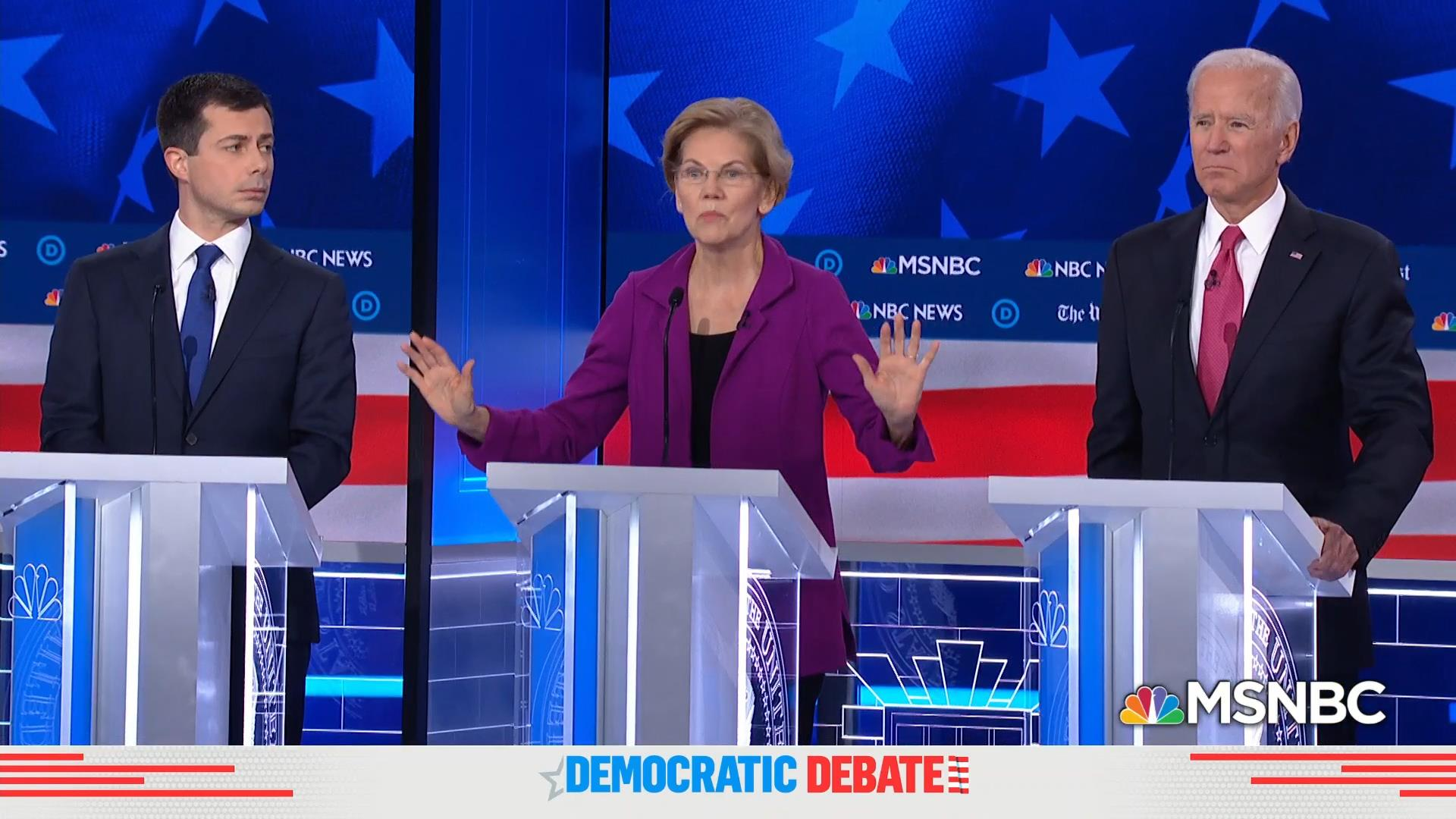 Women's issues take center stage at Democratic debate