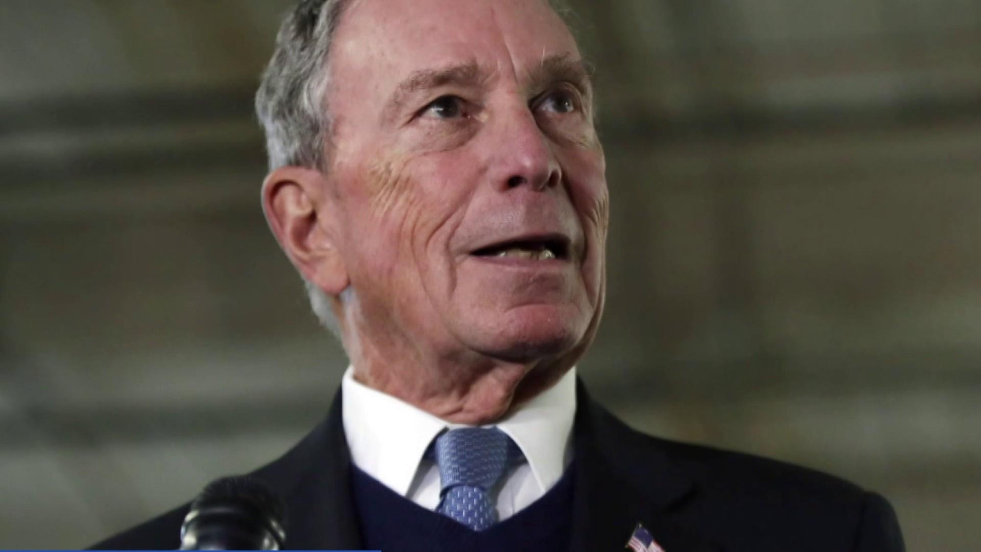 Bloomberg under scrutiny after signaling presidential run