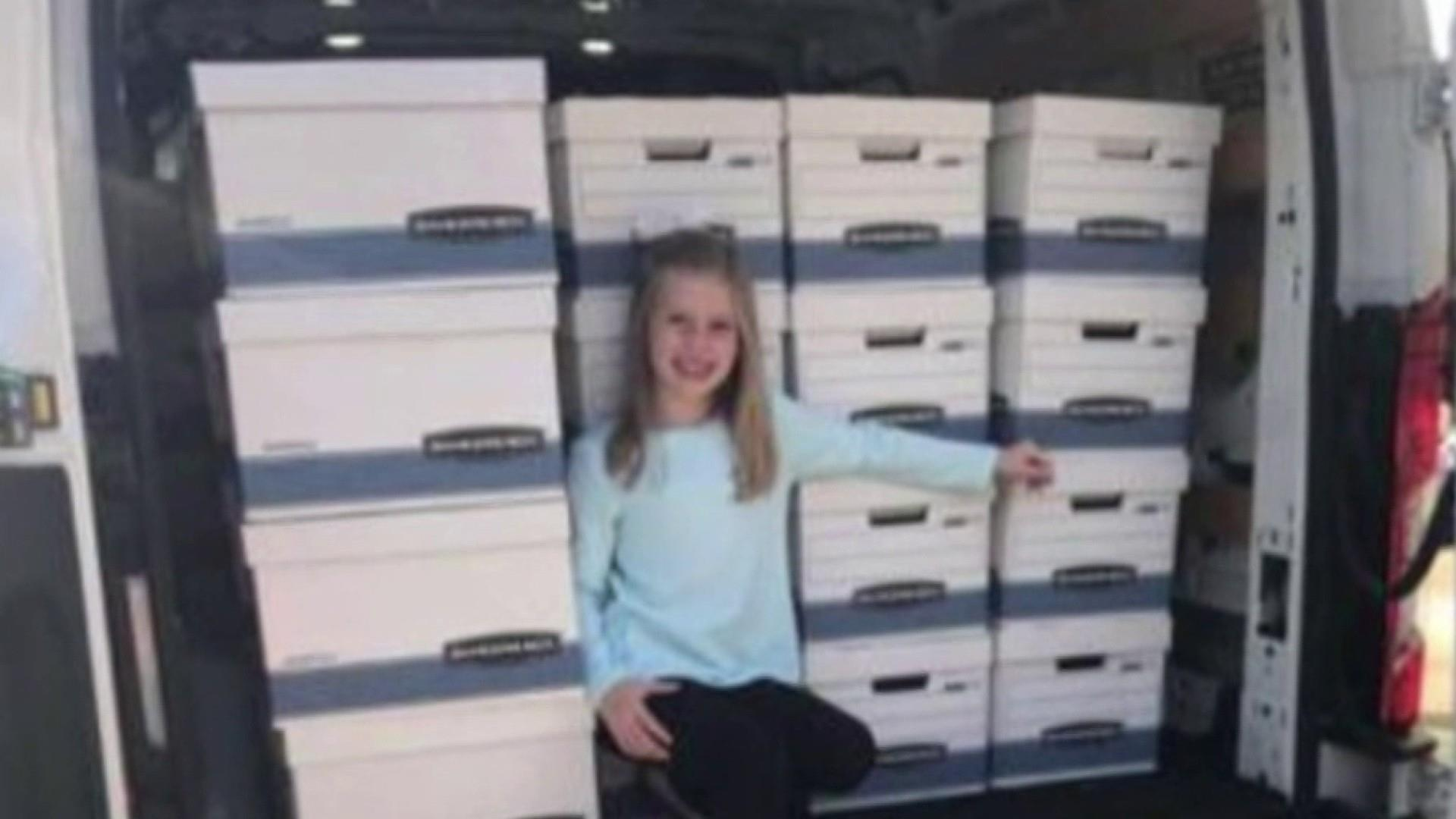 #GoodNewsRUHLES: 9-year-old buys 100+ Thanksgiving dinners for people in need
