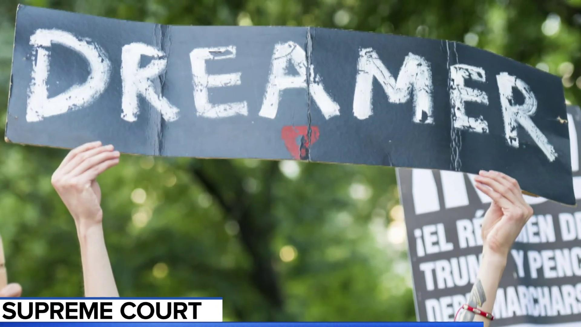 Trump's move to end dreamers program faces Supreme Court scrutiny