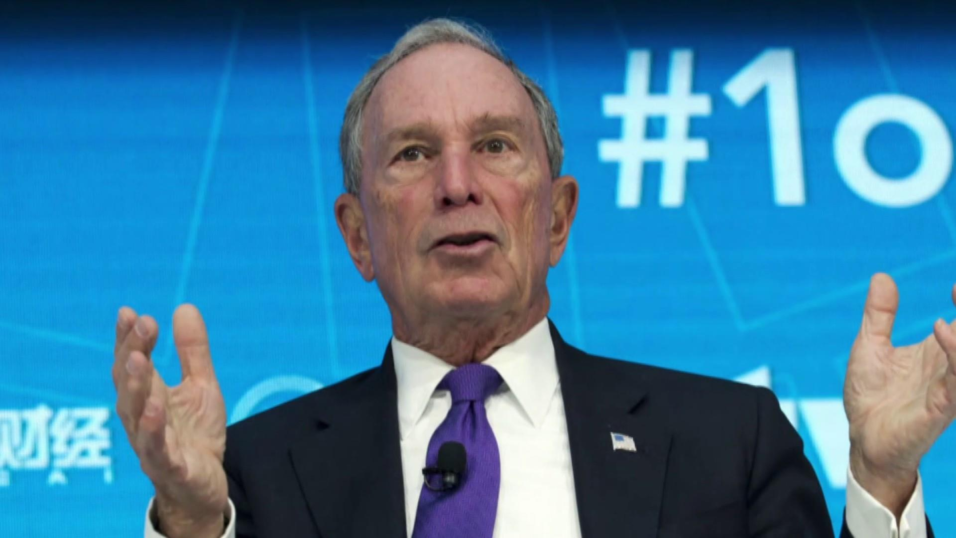 Bloomberg takes first steps into the 2020 race