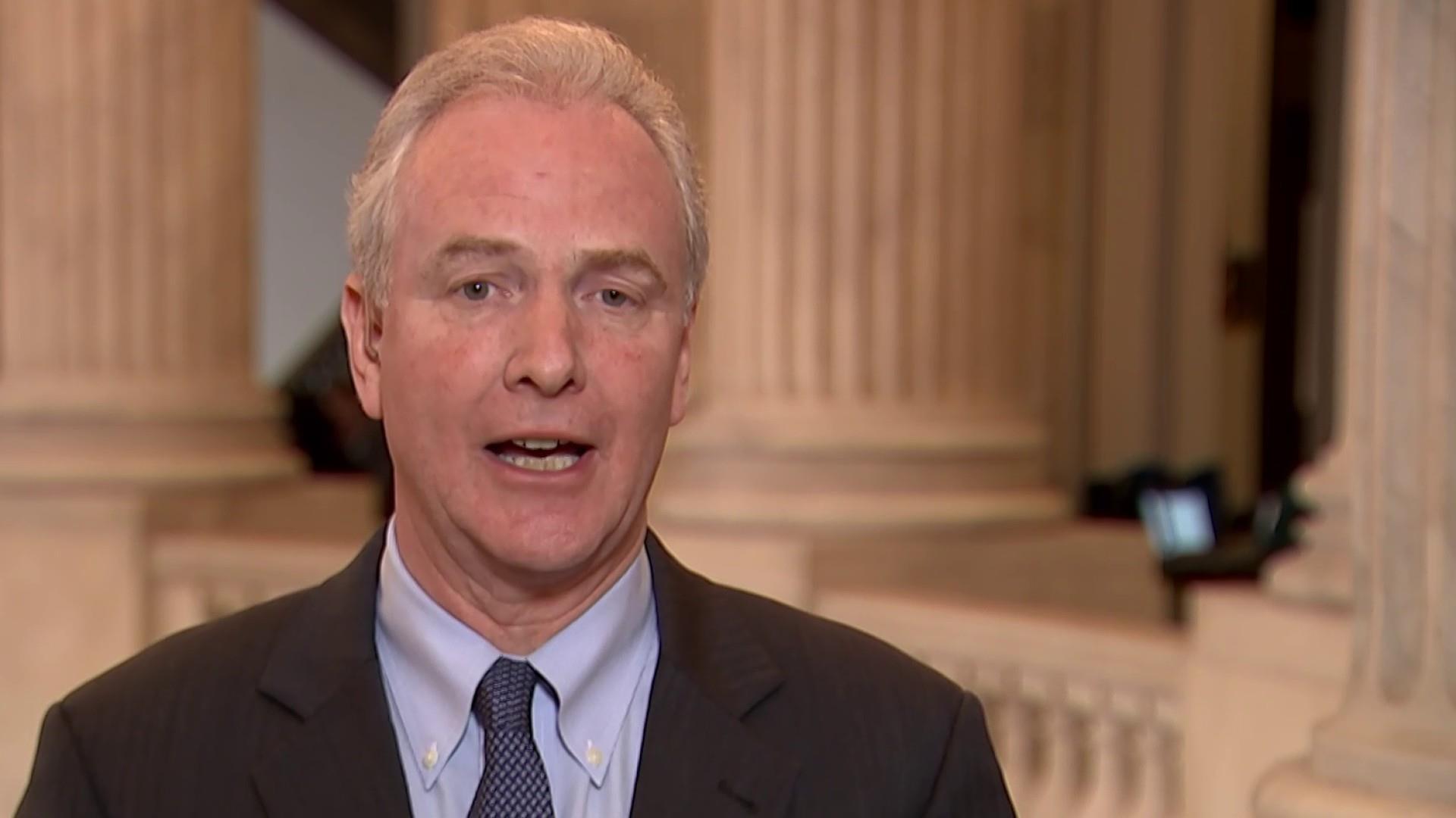 """Sen. Van Hollen: """"We're very nervous"""" about government shutdown"""