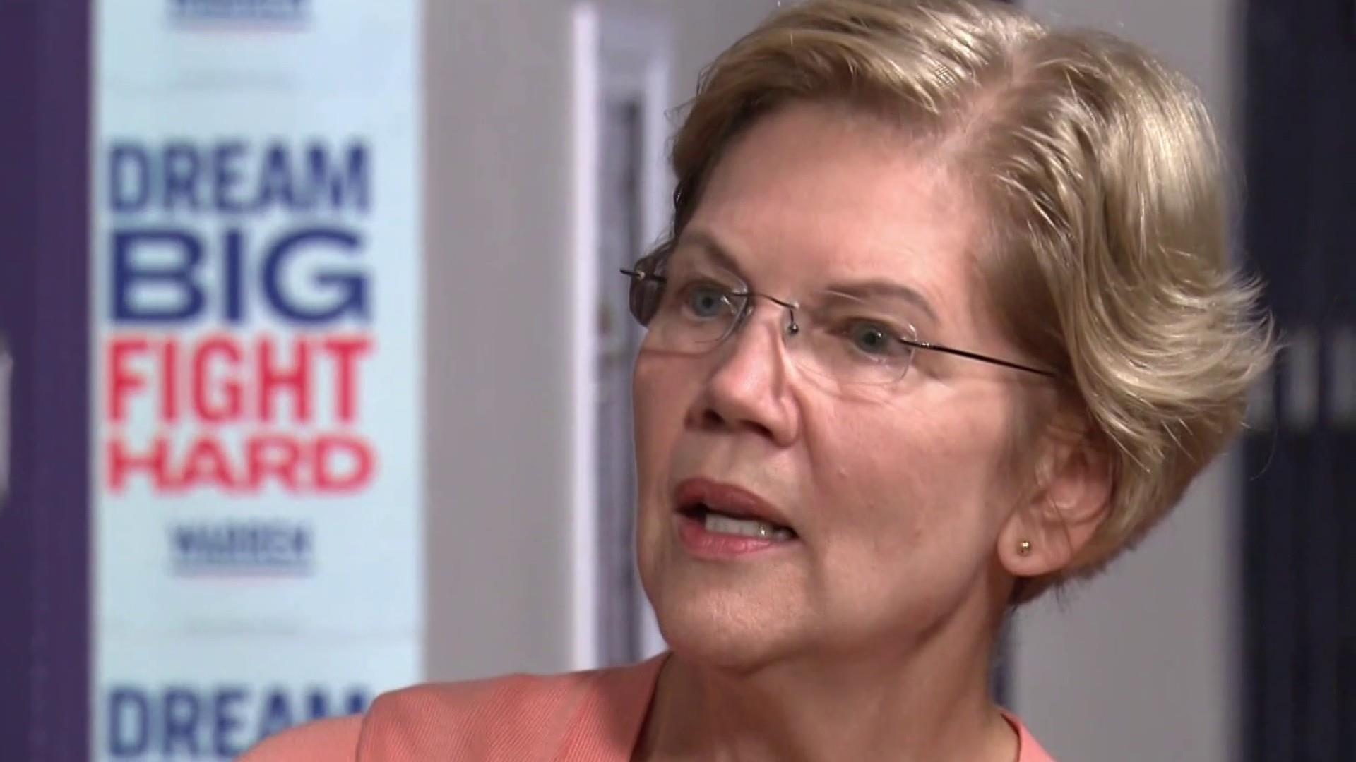 Warren responds to Bill Gates' wealth plan criticism
