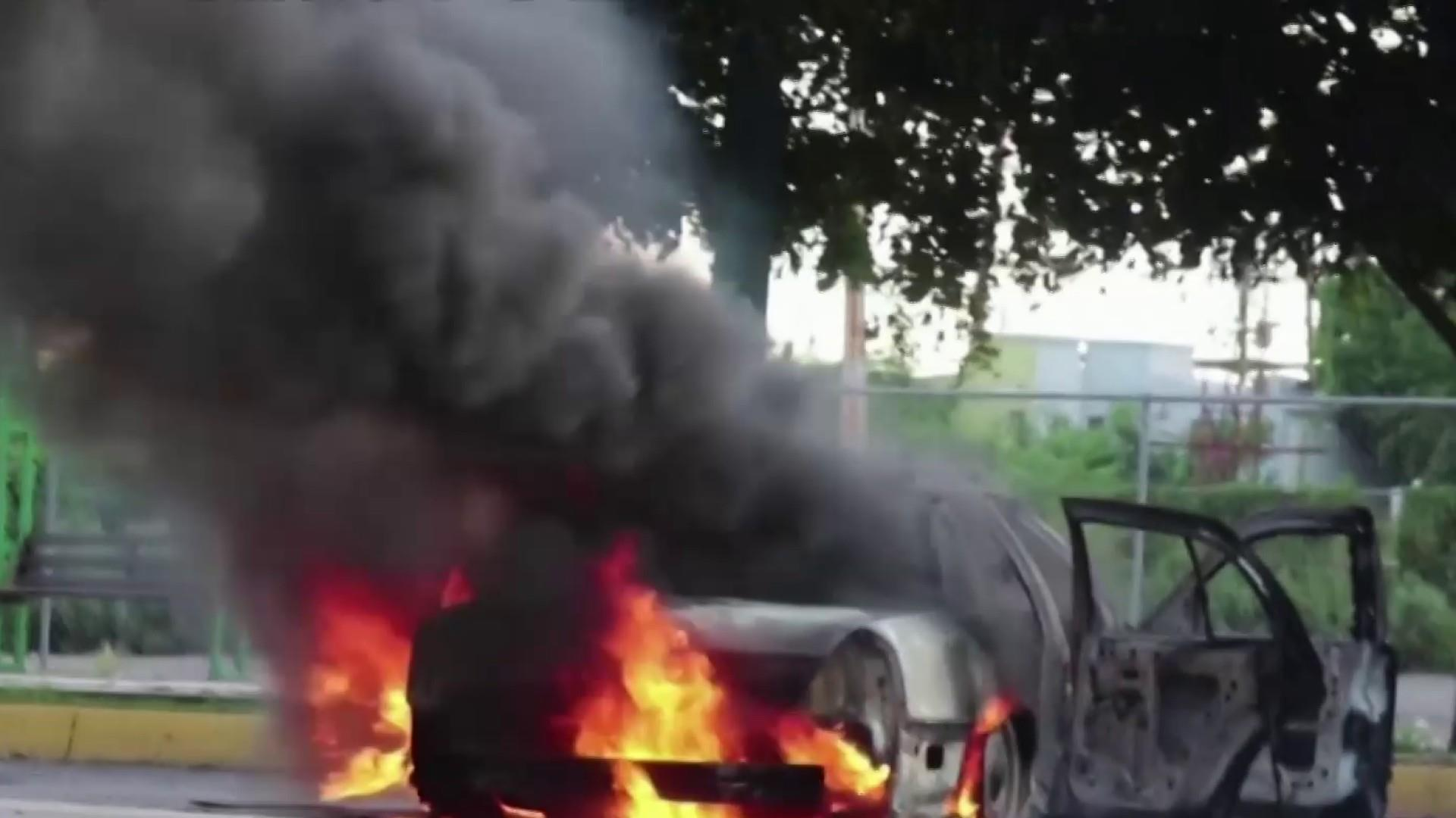 At least nine Americans killed in Mexican highway ambush