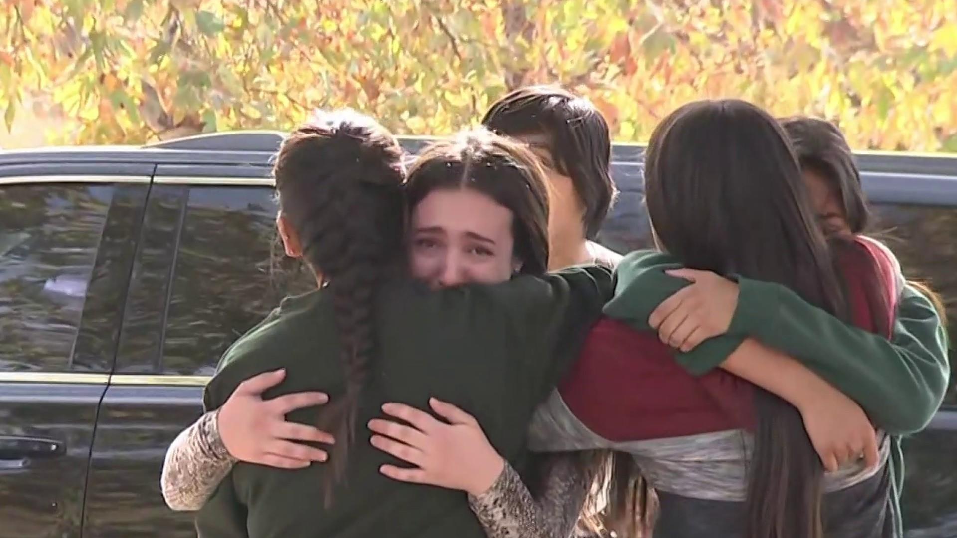 Santa Clarita, California, high school shooting leaves 2 students dead, multiple injured