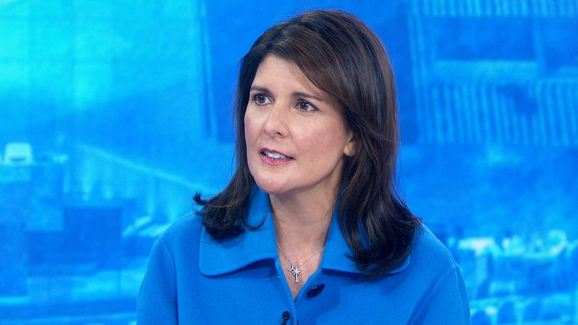 Nikki Haley grilled over Trump's Ukraine conduct, truthfulness