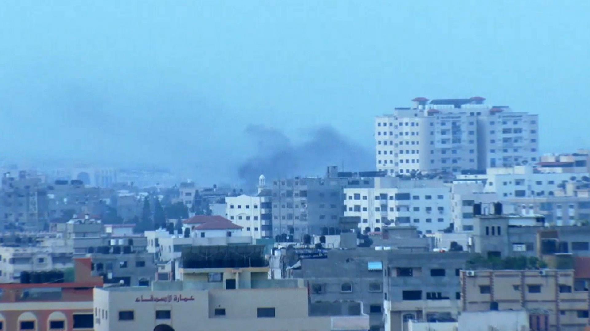 Netanyahu vows to 'mercilessly' hit Gaza militants; Gaza Strip residents say kids living in fear