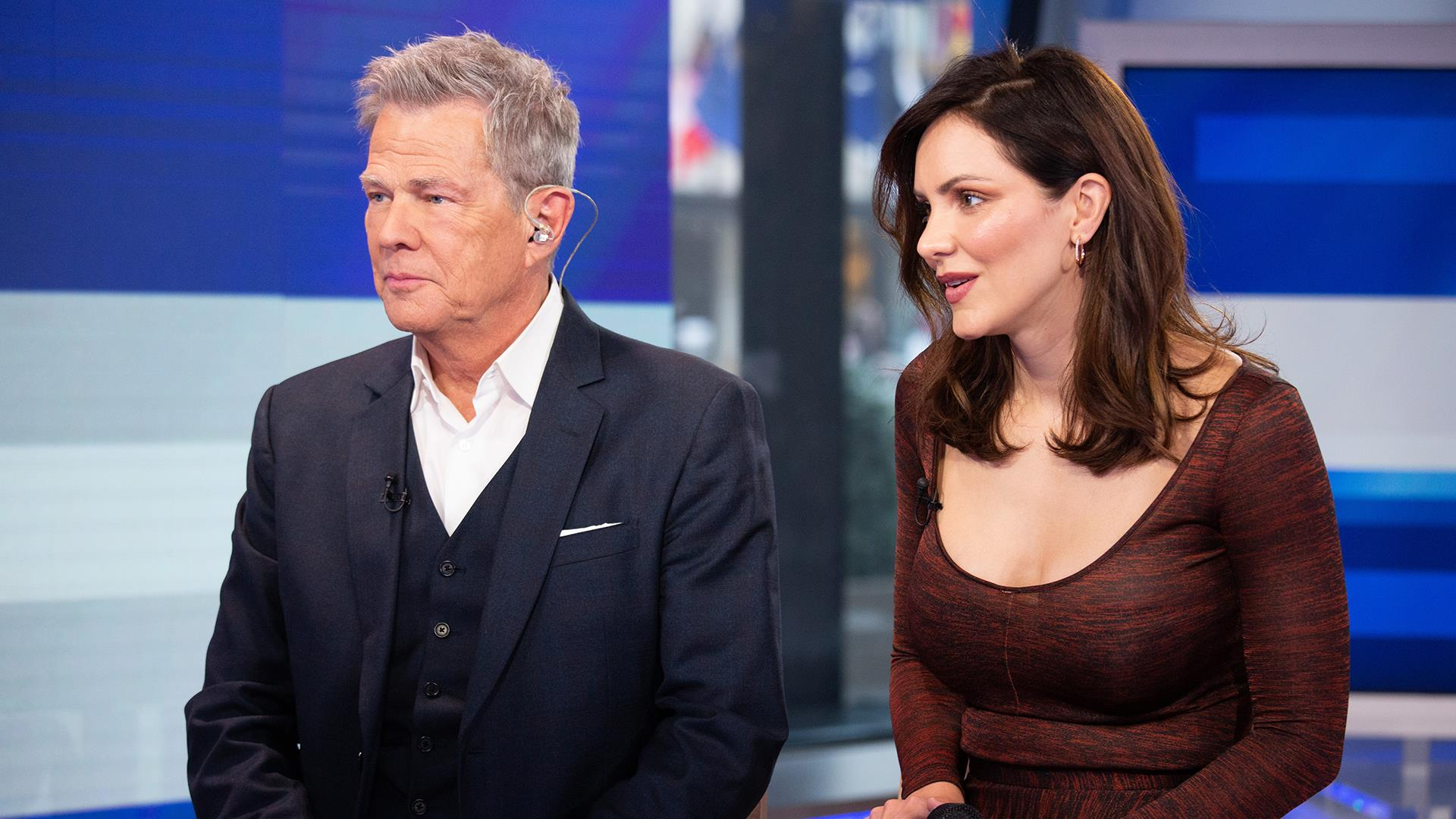 David Foster And Katharine Mcphee Foster Talk About Their Recent Marriage