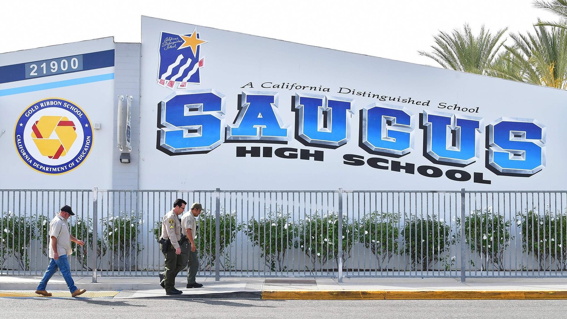 Suspected gunman in Southern California high school shooting dies