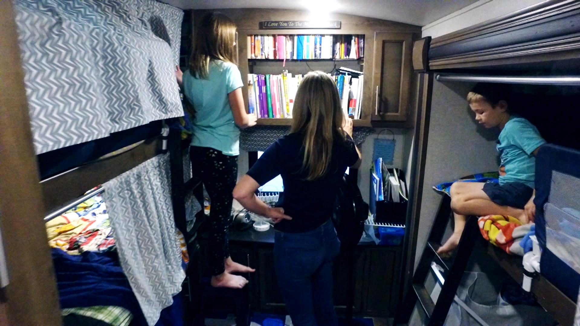Meet the family 'road schooling': Living and learning in an RV