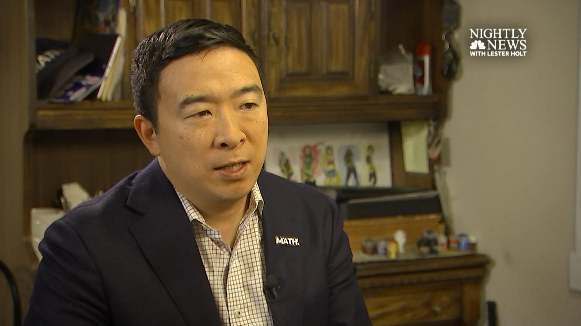 Andrew Yang on 'what matters' in 2020 election (extended interview)