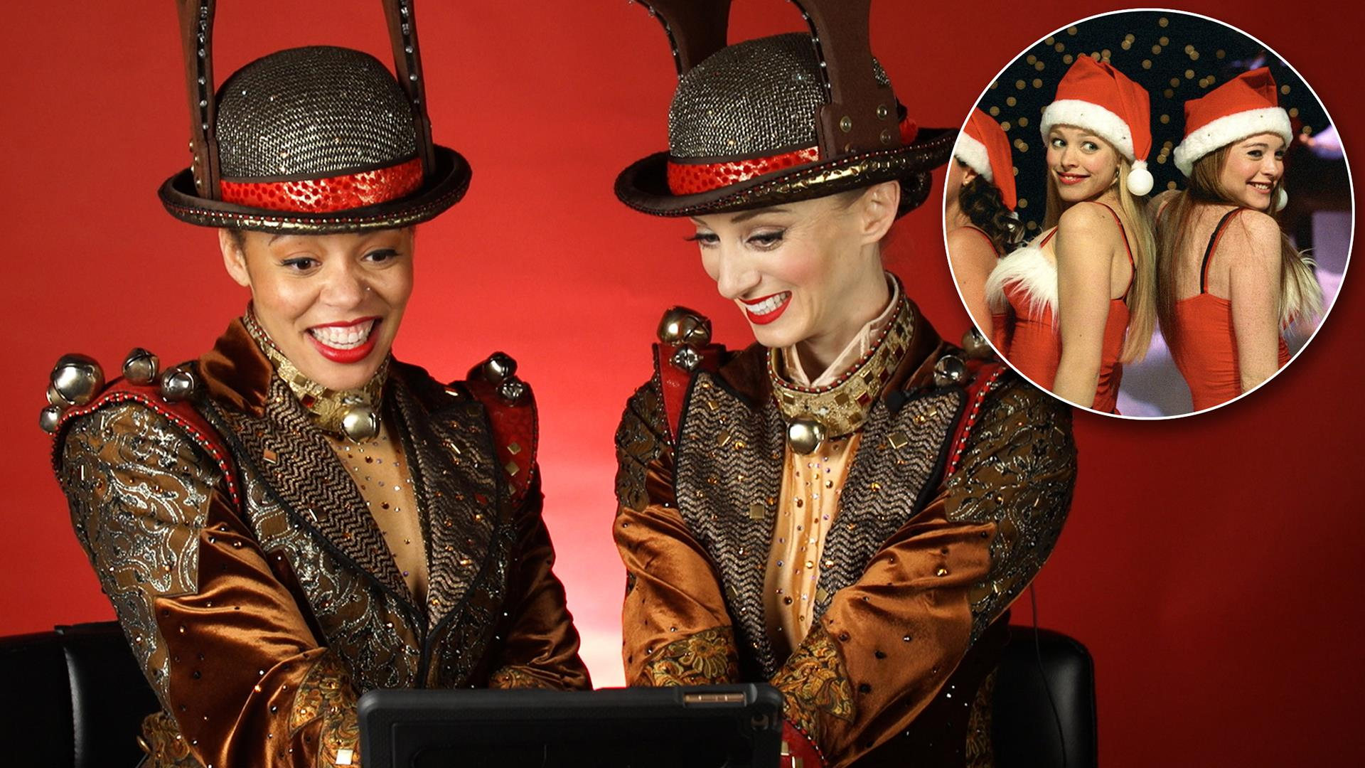 Rockettes react to 6 Christmas movie dance scenes