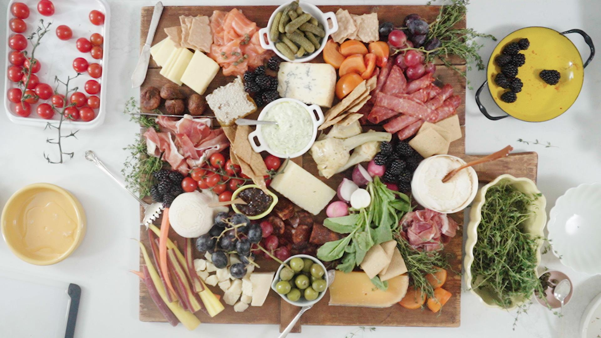 The only appetizer you need: A better way to do a meat and cheese board