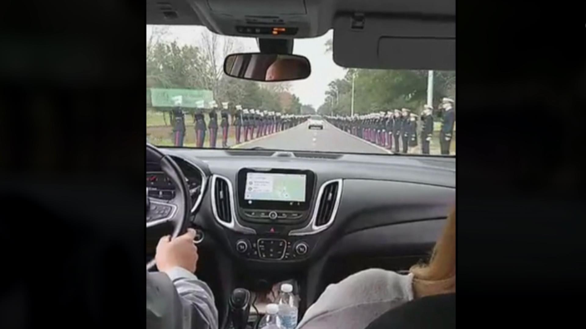 Video captures emotional funeral procession for Pensacola shooting victim Joshua Watson