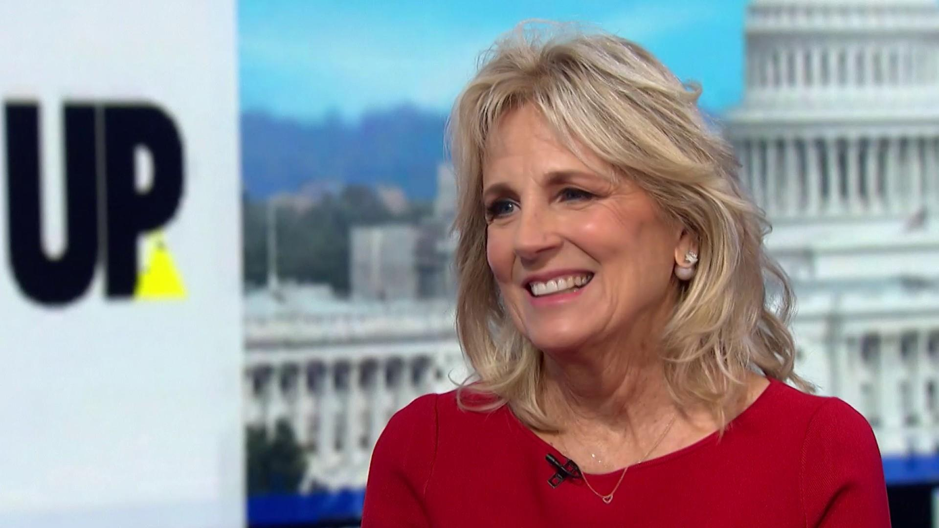 Jill Biden: Trump is afraid to run against my husband
