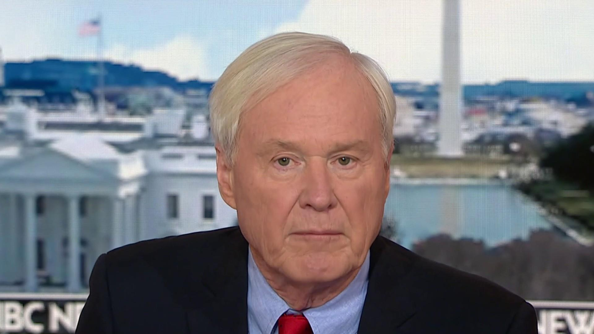 Chris Matthews on world leaders laughing at Trump: He's a joke now