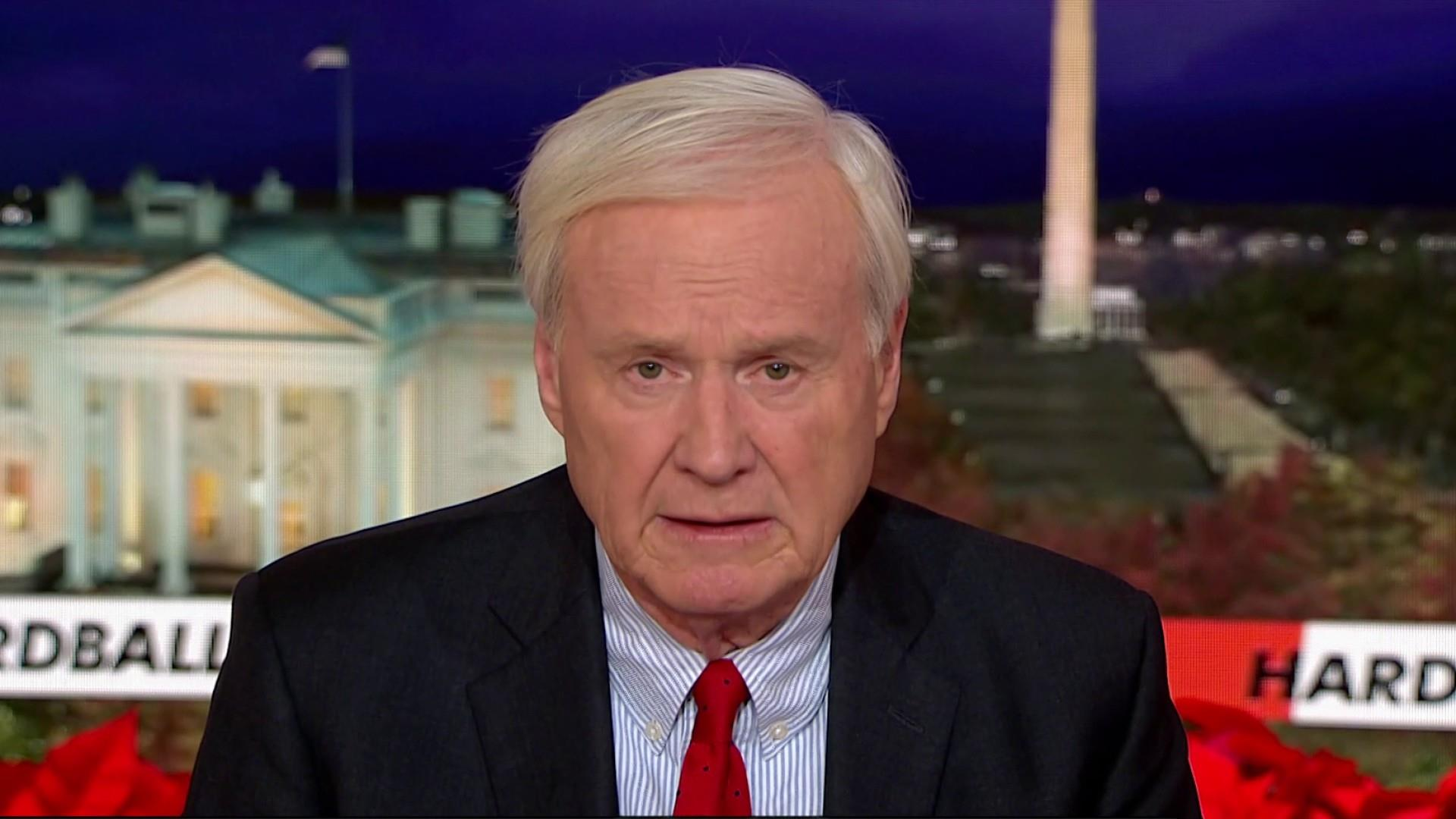 Chris Matthews on the significance of the articles of impeachment