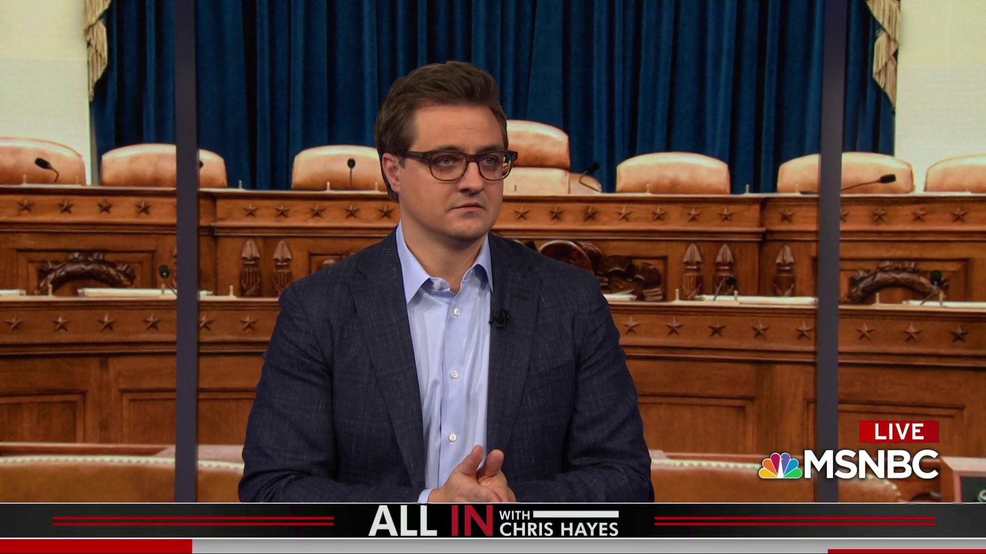 Chris Hayes: Trump got caught cheating, but his supporters don't care