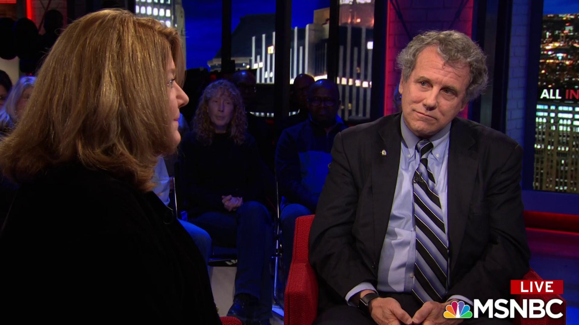 Sen. Sherrod Brown and Connie Schultz on why they decided against a presidential run