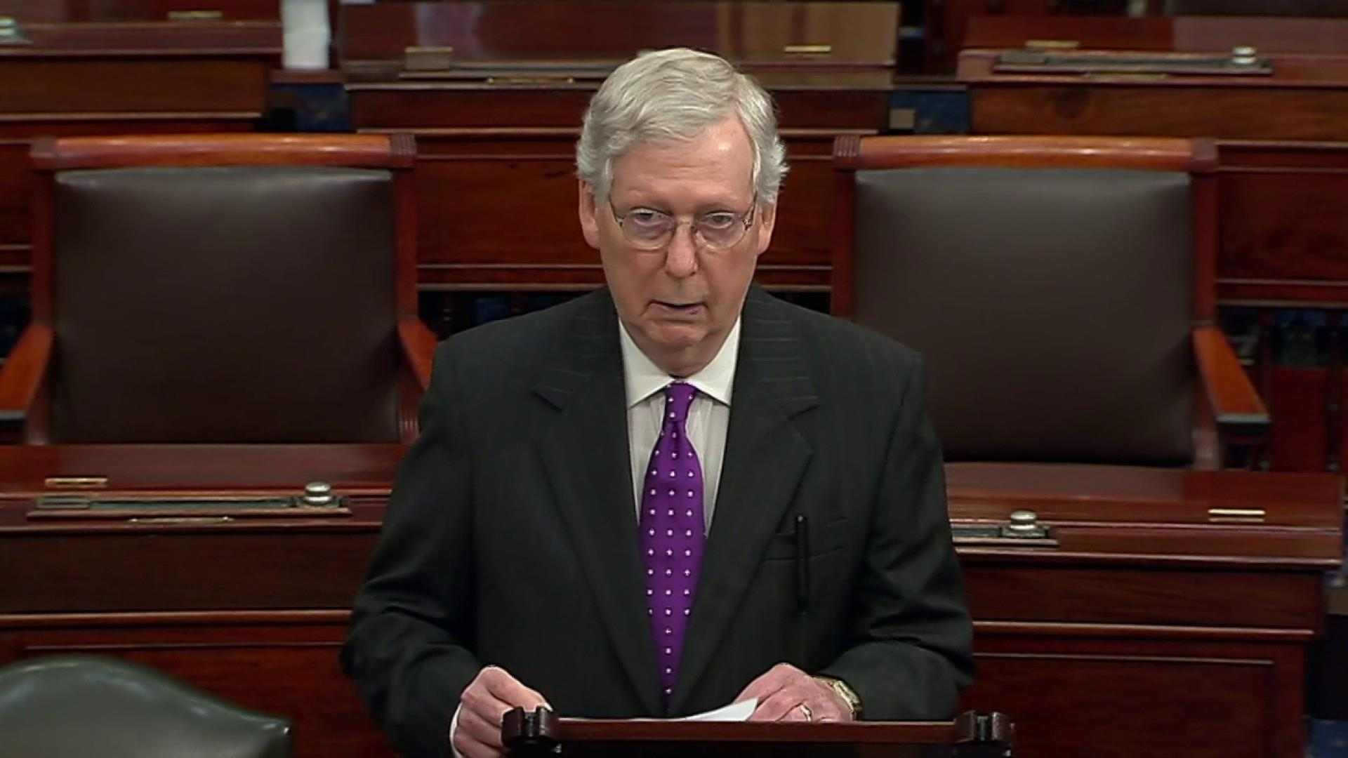 Ornstein: McConnell's admission is 'a flat violation of the oath he will take as a juror'