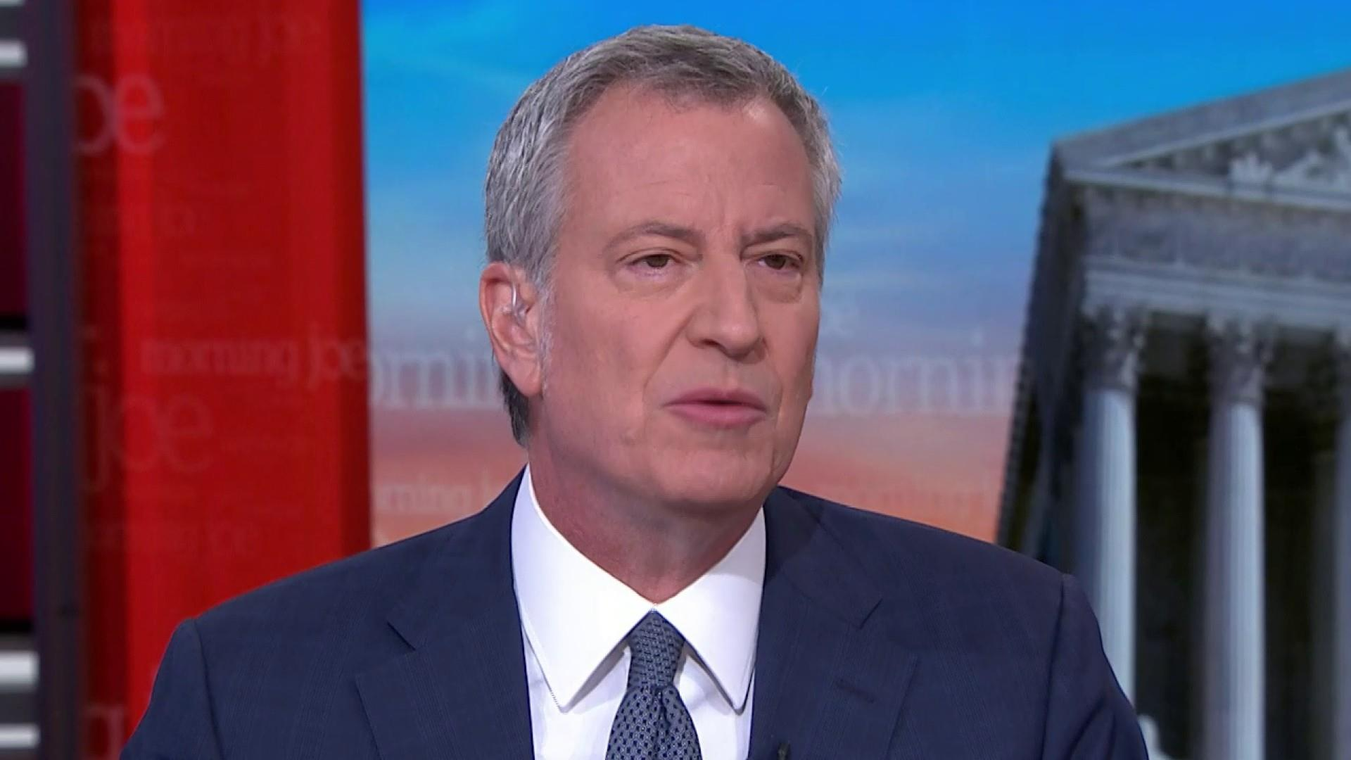 NYC mayor: Bloomberg not being authentic on stop-and-frisk