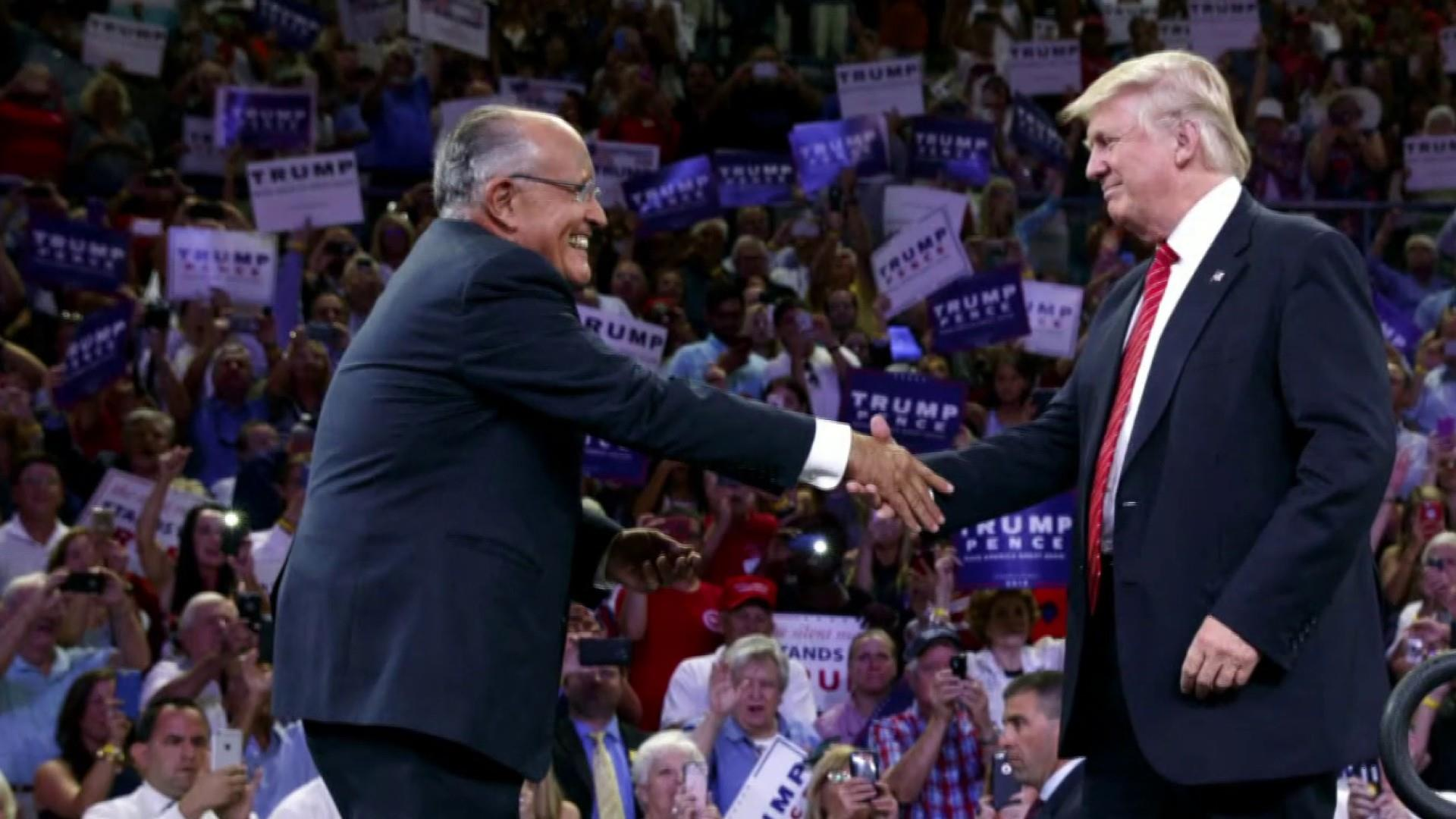 Rudy Giuliani leading Trump to brink of impeachment: NYT