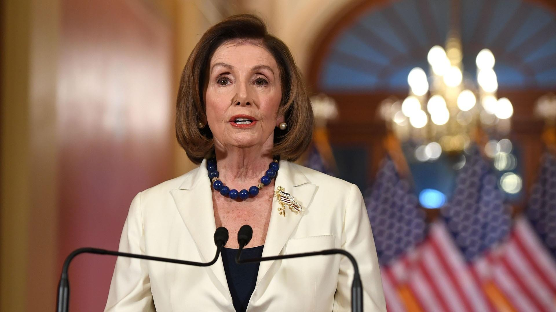 Pelosi announces full speed ahead with articles of impeachment against Trump
