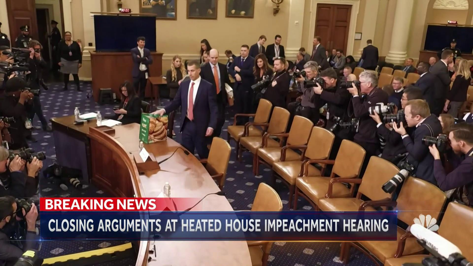 House Democrats' case for impeaching Trump, and the GOP case against it — the evidence, summarized