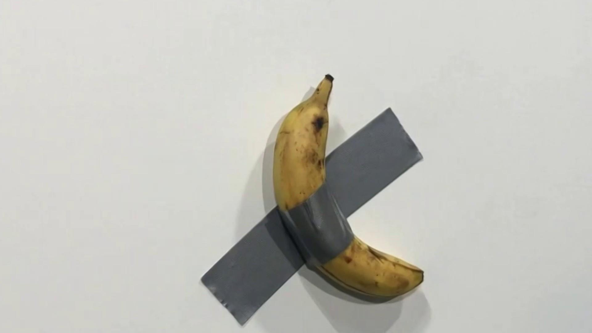 Artist sells banana duct-taped to wall for $120,000 at Art Basel in Miami Beach