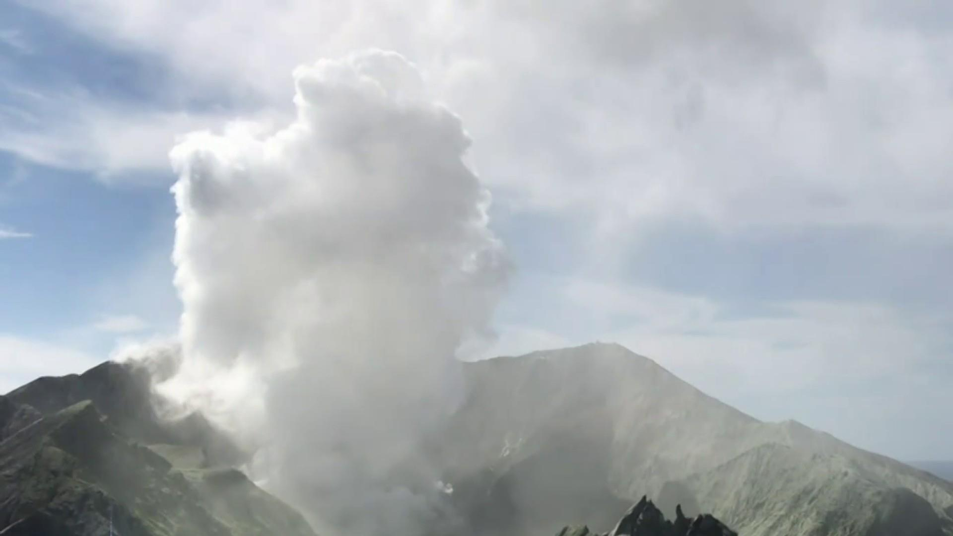 American couple on honeymoon in New Zealand severely burned in volcano eruption