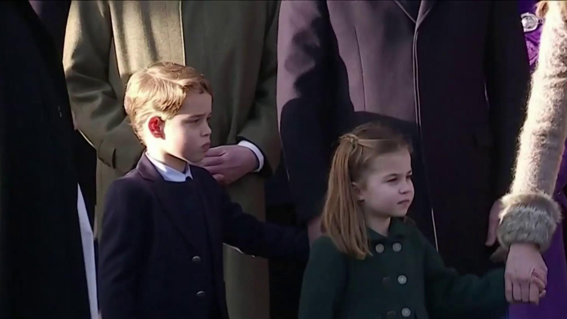 Royal Children Center Stage As Prince Andrew Fades Into Background On Christmas