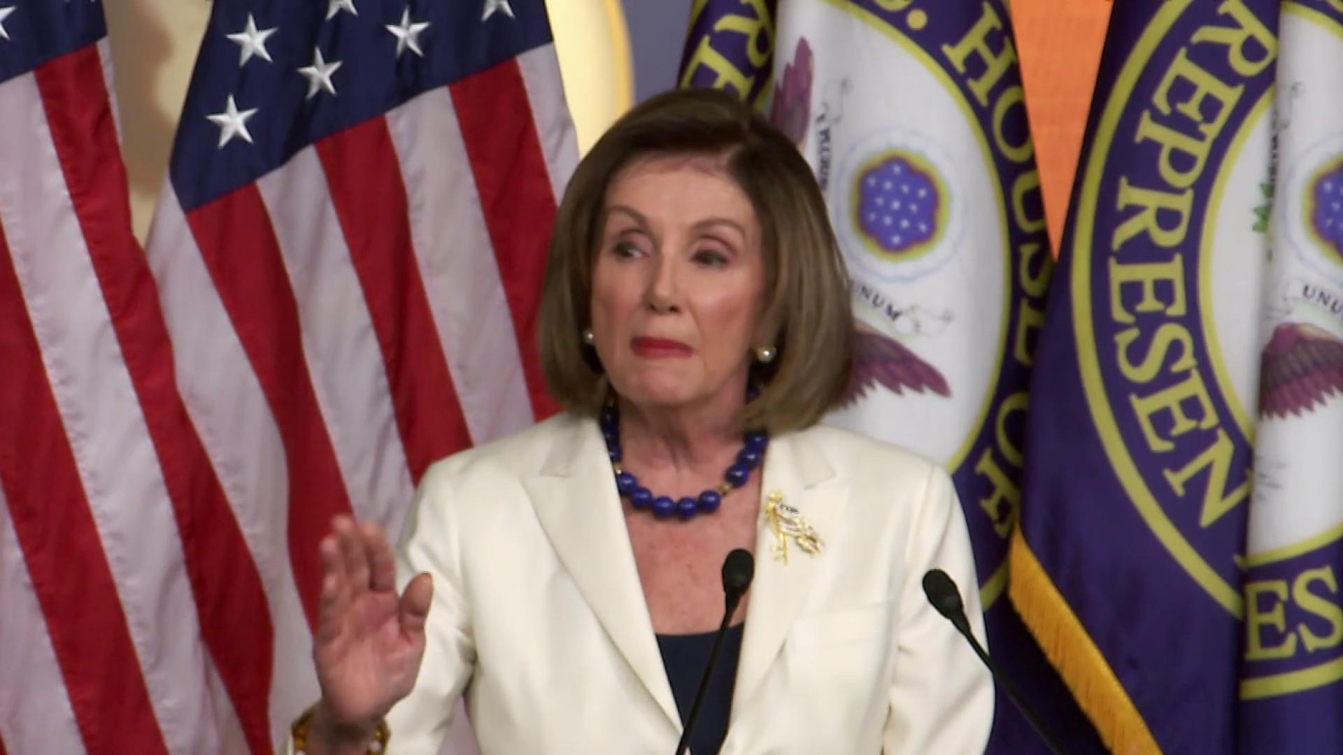 Pelosi announces full speed ahead with articles of impeachment against Trump