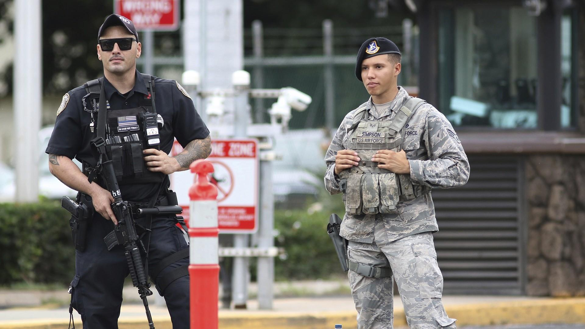 Sailor at Pearl Harbor opens fire, kills 2 before killing himself