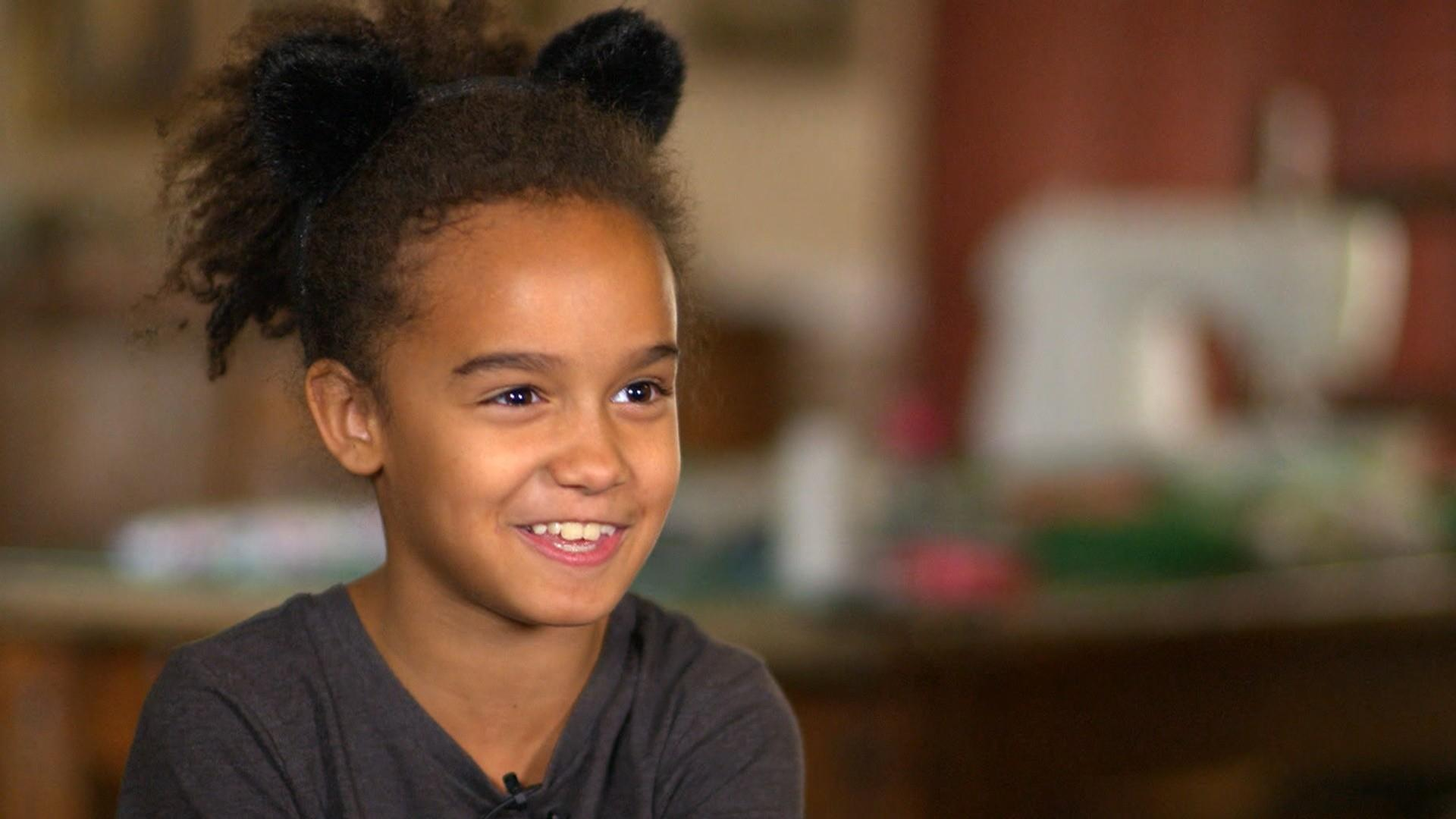 Meet the 10 year-old making stuffed animals for kids in need