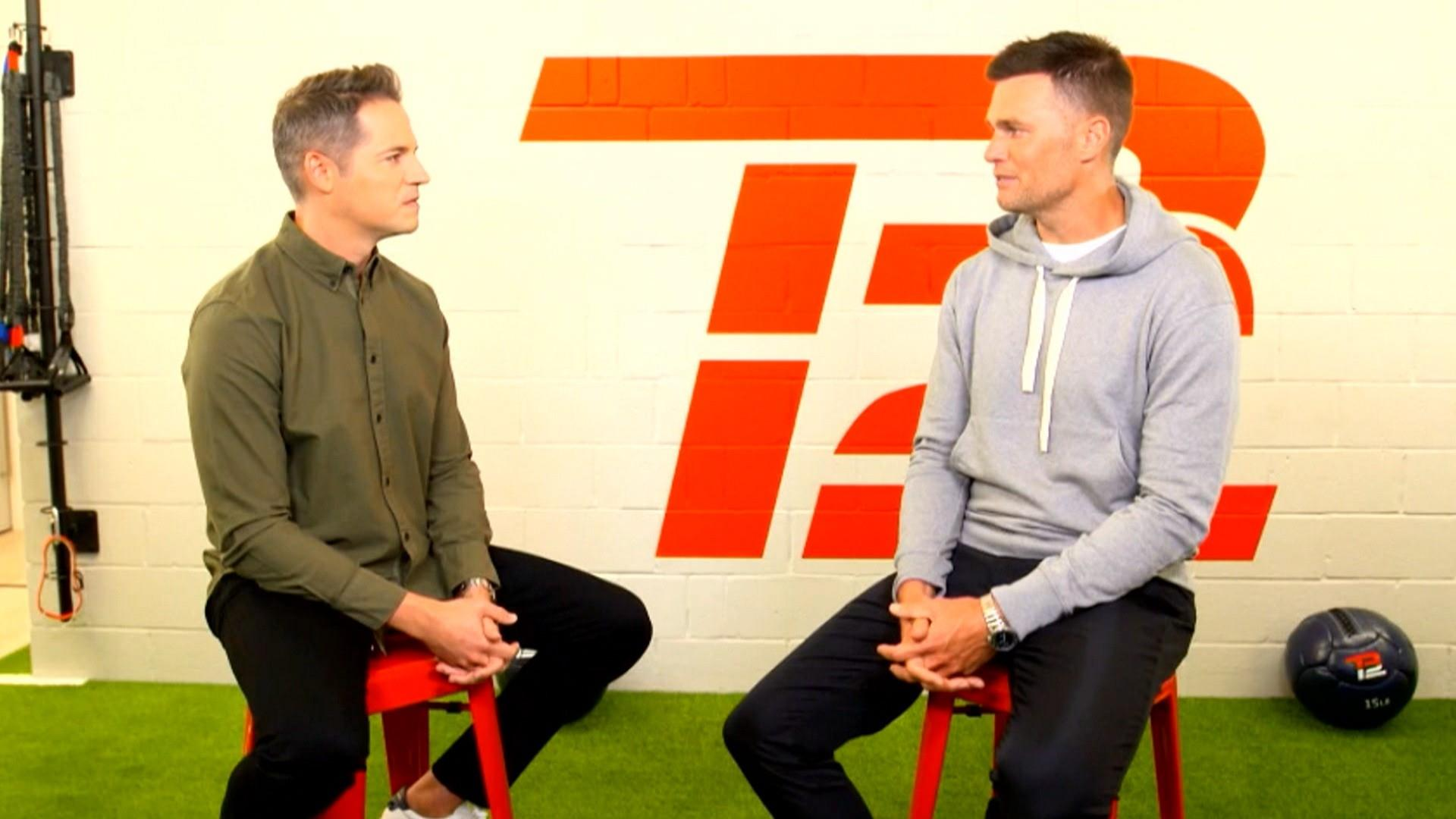 Tom Brady talks about football and fatherhood on 'In the Room'