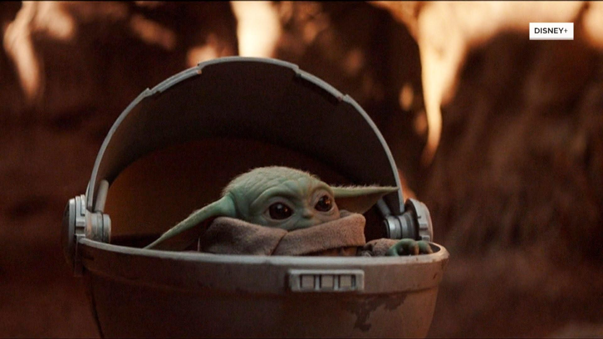 Baby Yoda products available for pre-order but won't arrive until May 2020