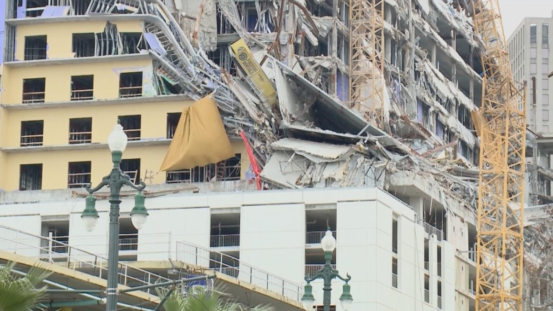 Body spotted months after Hard Rock Hotel collapse sparks outrage in New Orleans