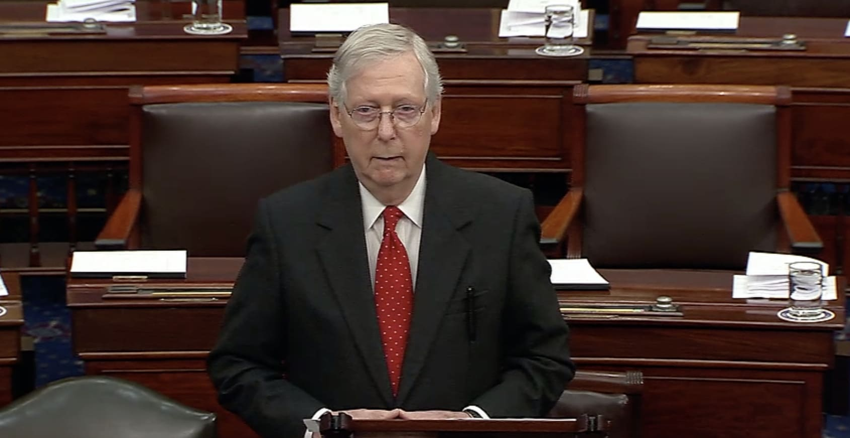 'Caught bluffing': See Trump trial begin as GOP Sen. McConnell backs down on rules