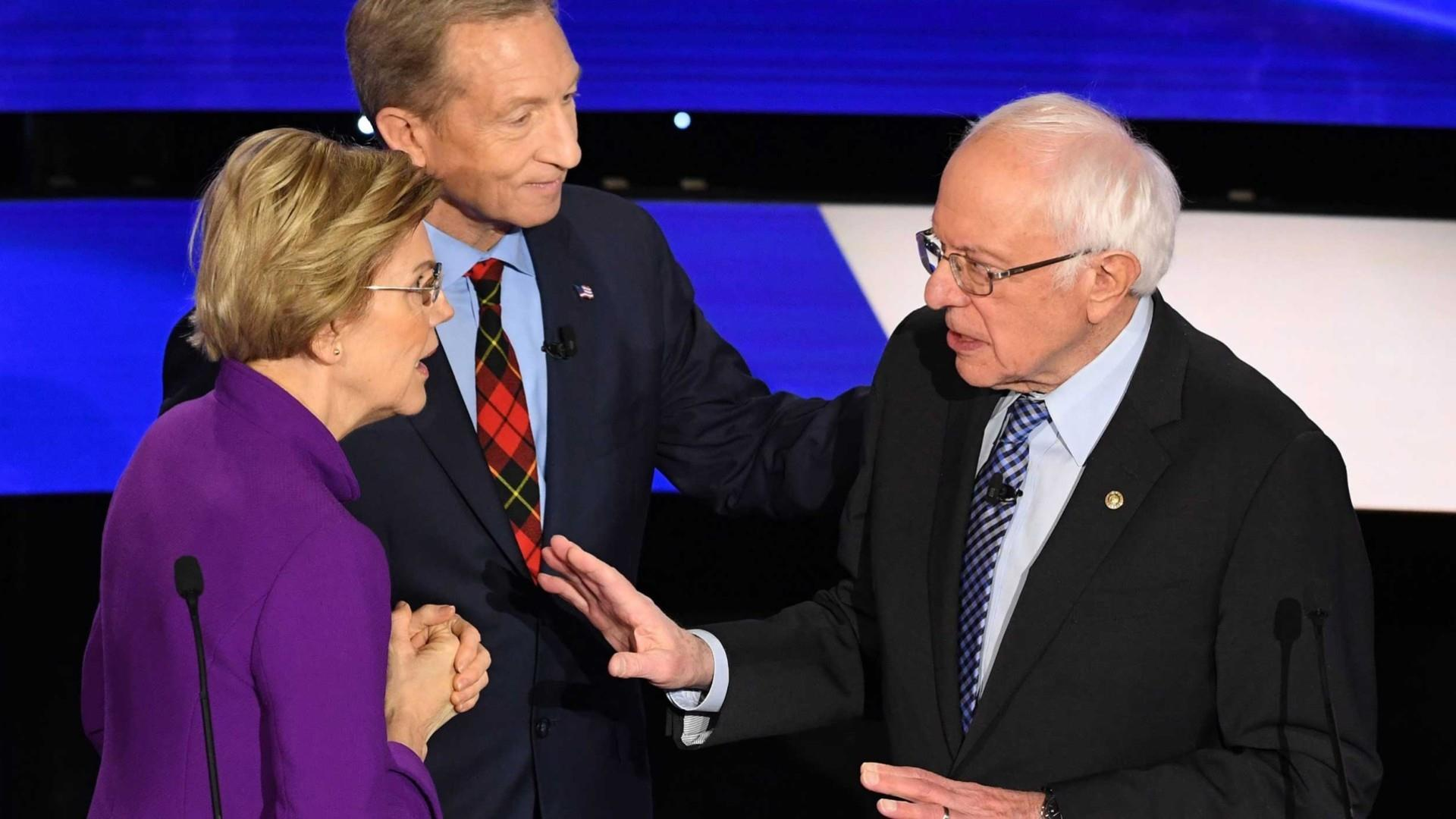 'I think you called me a liar on national TV,' Warren told Sanders after debate