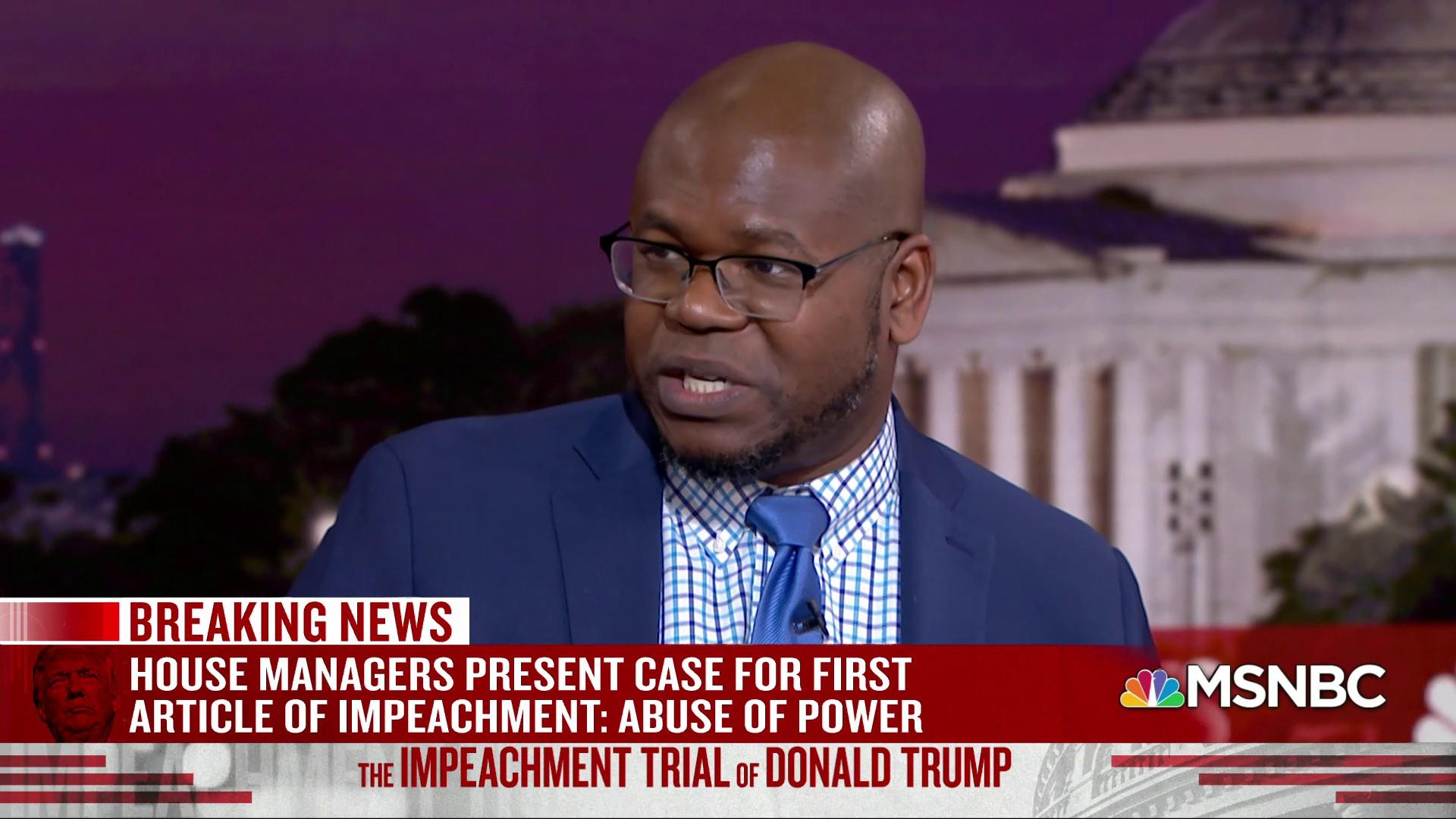 Johnson: Day One of impeachment trial was like 'Wheel of Fortune,' Day Two is like 'Wild 'N Out'