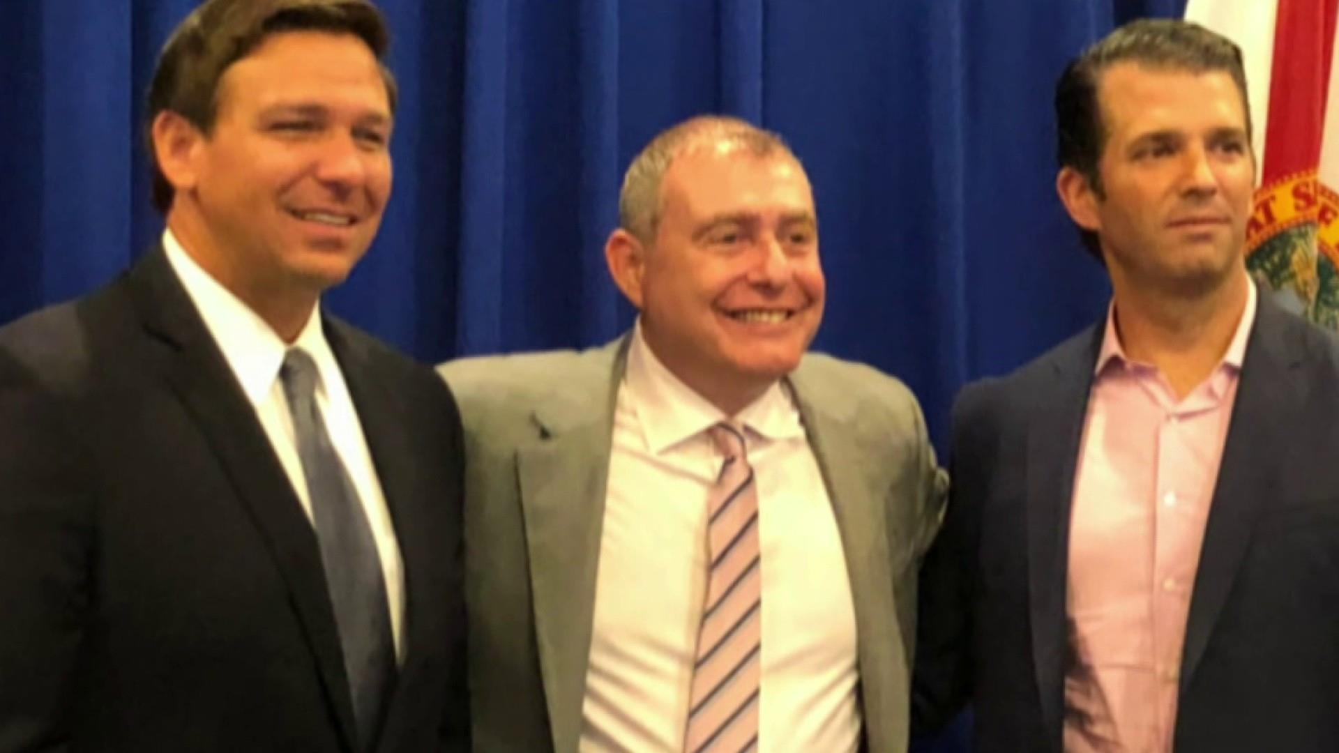 Parnas exchanged texts with FL Gov. DeSantis WSJ report alleges