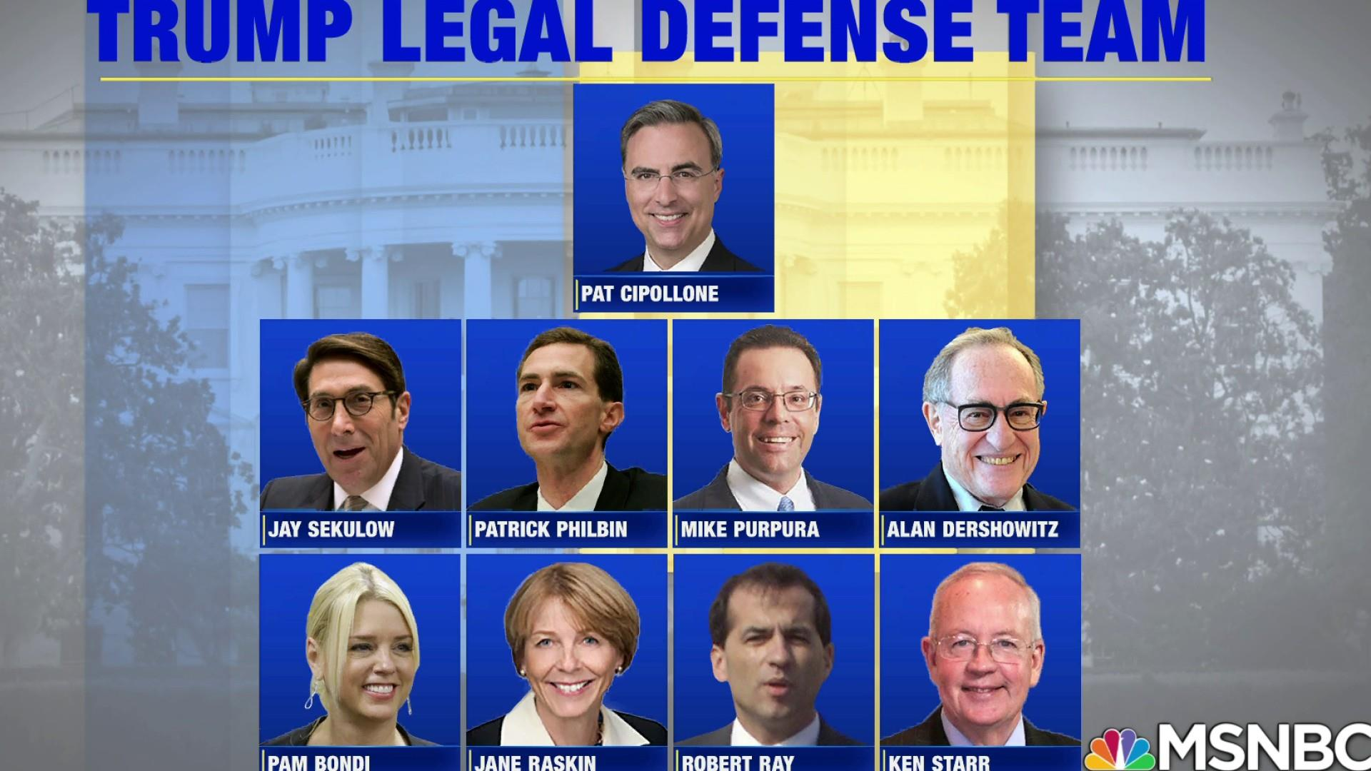 Trump's impeachment Senate trial, legal team analyzed by experts