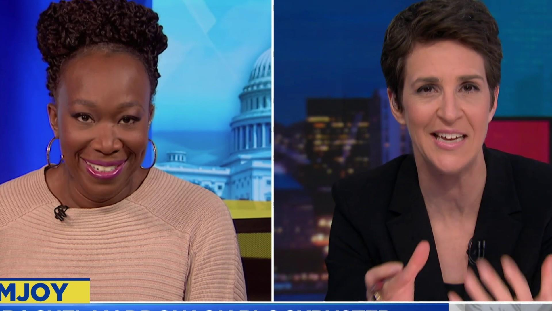 Lev Parnas interview with Rachel Maddow discussed with Maddow