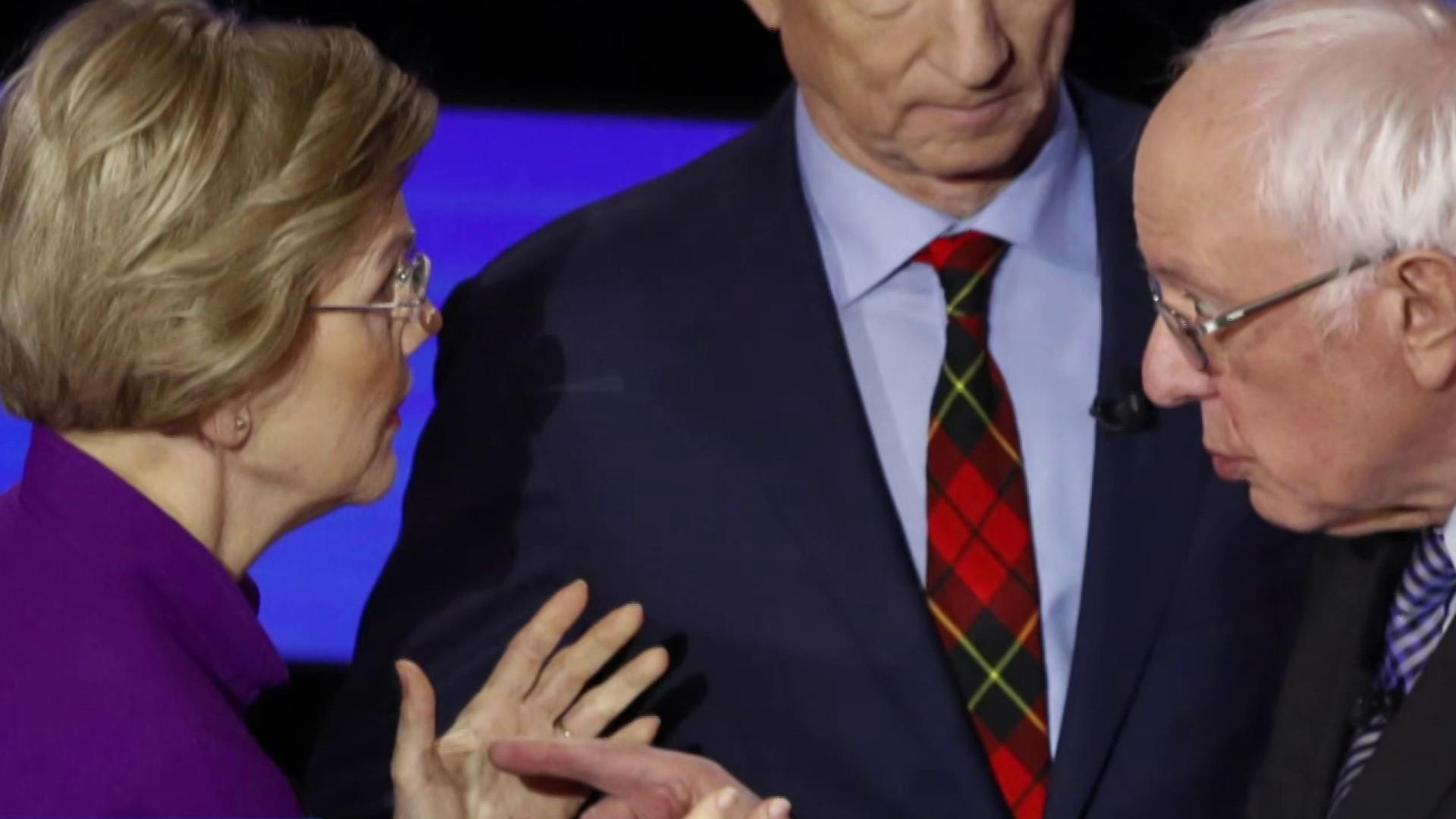 Warren accusing Sanders of calling her a liar analyzed by experts